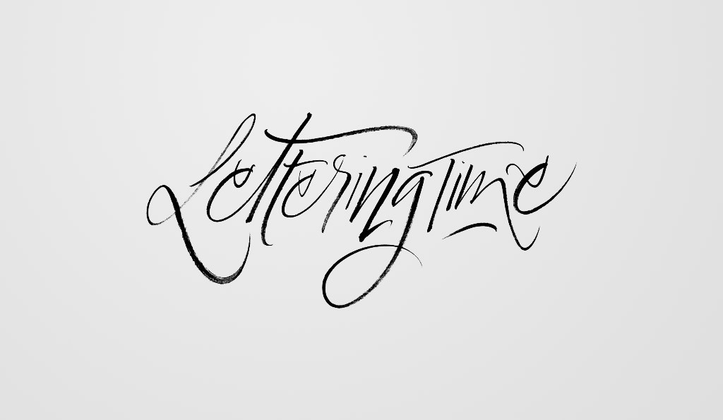 lettering-time